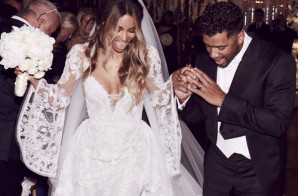 Ciara & Russell Wilson Tie The Knot