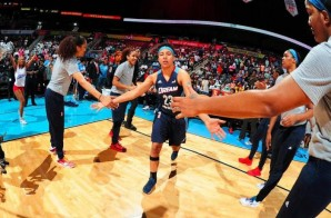 California Dreamin: The Atlanta Dream Defeated The Los Angeles Sparks (91-74) Yesterday Afternoon At Philips Arena