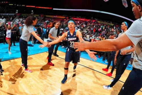 dream-500x334 California Dreamin: The Atlanta Dream Defeated The Los Angeles Sparks (91-74) Yesterday Afternoon At Philips Arena