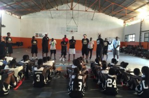 Stand Up Guy: Matt Barnes Takes His Youth Basketball Skills Camp To Senegal (Video)