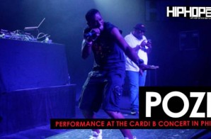 "Poze Performance At The Cardi B ""Underestimated"" Tour Philly"