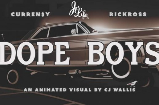 Curren$y – Dope Boys Ft. Rick Ross (Video)