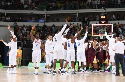 Rio 2016: The #USABMNT Moved on to (2-0) After Defeating Venezuela (113-69)