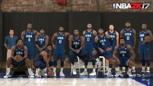 CopN5awUEAA28kY-500x281 The 1992 & 2016 U.S.A Olympic Teams Will Be Featured On NBA 2K17