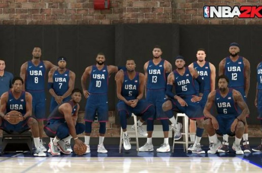 The 1992 & 2016 U.S.A Olympic Teams Will Be Featured On NBA 2K17
