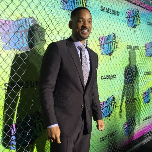 "CoztpP4WYAACAEO-500x500 Will Smith, Jaden Smith, Viola Davis & More Attend Warner Bros ""Suicide Squad"" Premiere in NYC"