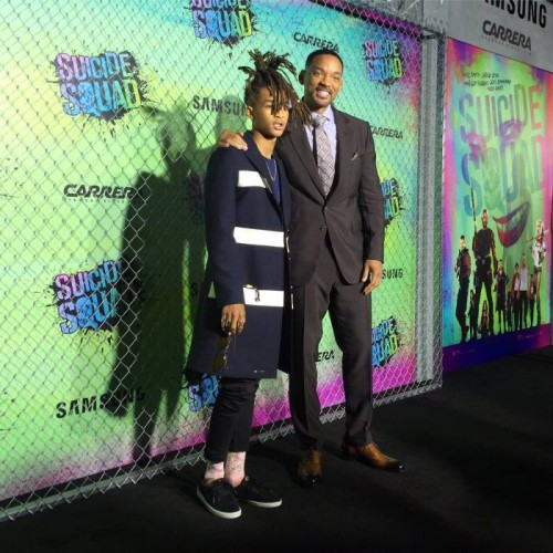 "Cozu2yVWcAA4ieu-500x500 Will Smith, Jaden Smith, Viola Davis & More Attend Warner Bros ""Suicide Squad"" Premiere in NYC"