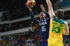 Team USA #USABMNT Defeated Australia (98-88) Wednesday Afternoon In 2016 Olympics Play; Today They Face Serbia