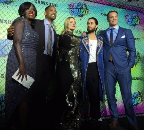 "SS-cover-500x451 Will Smith, Jaden Smith, Viola Davis & More Attend Warner Bros ""Suicide Squad"" Premiere in NYC"