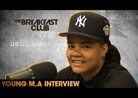 Young M.A. Talks Being A Gay Rapper, 50 Cent, Dr. Boyce Watkins & More W/ The Breakfast Club (Video)