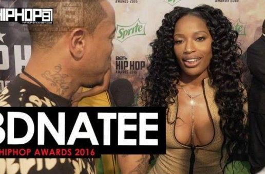 3D Na'Tee Talks 'The Regime', The 2016 BET Cypher, Her Upcoming Tour, New Orleans' Music Culture & More on the 2016 BET Hip Hop Awards Green Carpet with HHS1987 (Video)