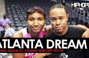 Angel McCoughtry Talks Looking to Advance to the WNBA Playoff + Dream vs. Mercury Recap