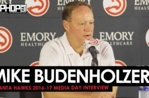 Coach Budenholzer Talks Signing Dwight Howard, the Hawks 2016-17 Season, the Hawks New Roster & More During 2016-17 Atlanta Hawks Media Day with HHS1987 (Video)