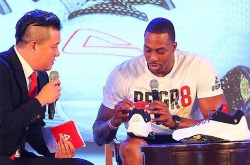 "Atlanta Hawks Star Dwight Howard Debuts His New ""Peak DH2"" Sneakers"