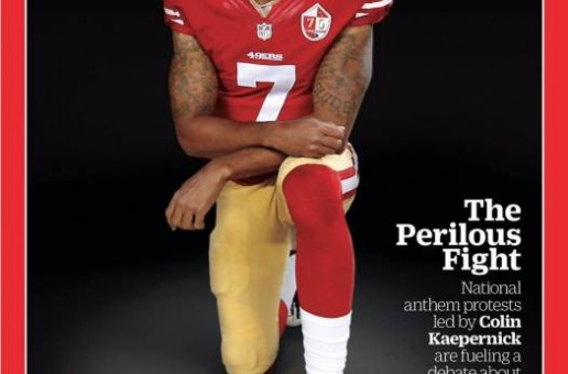 It's About Time: San Francisco 49ers QB Colin Kaepernick Covers TIME Magazine