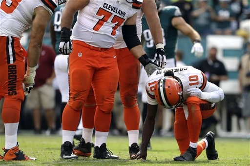 Brown & Out: The Cleveland Browns Place QB Robert Griffin III on the Injured Reserve List with a Shoulder Injury