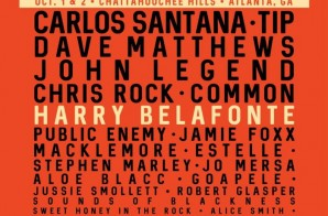 "T.I., Common, Chris Rock, John Legend & More Set To Headline Harry Belafonte & Sanfoka.org""s ""Many Rivers Festival"" in Atlanta (Oct. 1st & 2nd)"