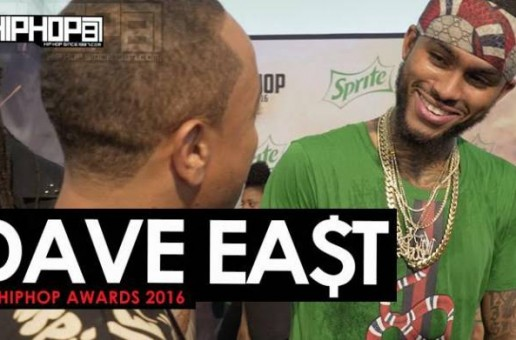 "Dave East Talks 'Kairi Chanel', The 2016 BET Cypher, Performing at Made in America, ""Hate Me Now"" Tour & More on the 2016 BET Hip Hop Awards Green Carpet with HHS1987 (Video)"