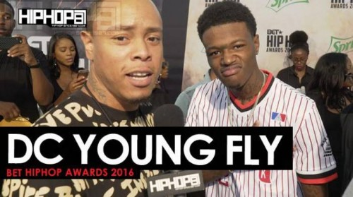 DC-Young-Fly-1-500x279 DC Young Fly Talks 'Almost Christmas', 'Digital Lives Matter' and More on the 2016 BET Hip Hop Awards Green Carpet with HHS1987 (Video)
