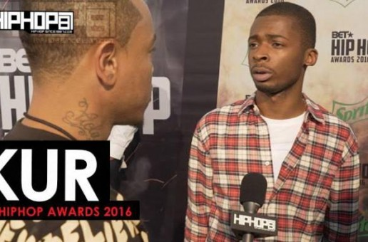 Kur Talks Signing With E-One, His Upcoming Project 'Shakur' The 2016 BET Cypher & More on the 2016 BET Green Carpet with HHS1987 (Video)