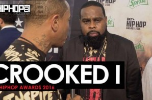 Crooked I Talks His Reality Show 'One Shot', His Coming Project 'Good vs. Evil', a Possible Slaughterhouse Project & More on the 2016 BET Hip Hop Awards Green Carpet with HHS1987 (Video)
