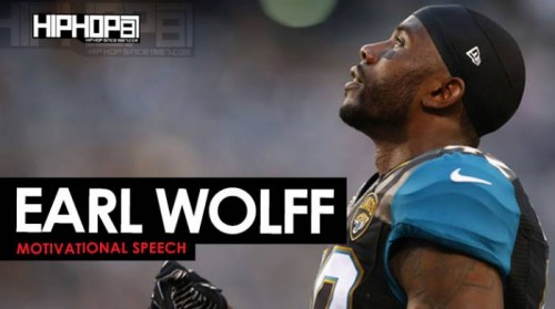 earl-wolff-500x279 Earl Wolff (Formerly of the Jacksonville Jaguars) Motivational Speech at Sharrif Floyd's Camp