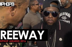 Freeway Talks The 2016 BET State Property Cypher, New Music with Lil Wayne, Made In America 2016 & More on the 2016 BET Green Carpet with HHS1987 (Video)