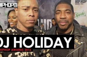 DJ Holiday Talks '4am in Decatur' More on the 2016 BET Hip Hop Awards Green Carpet with HHS1987 (Video)