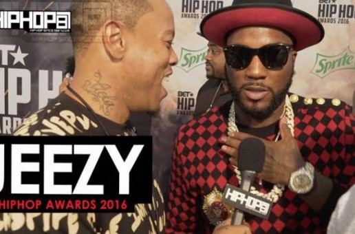 Jeezy Talks His Upcoming Project 'Trap or Die 3', His Upcoming Record with Bankroll Fresh & More on the 2016 BET Hip Hop Awards Green Carpet with HHS1987 (Video)