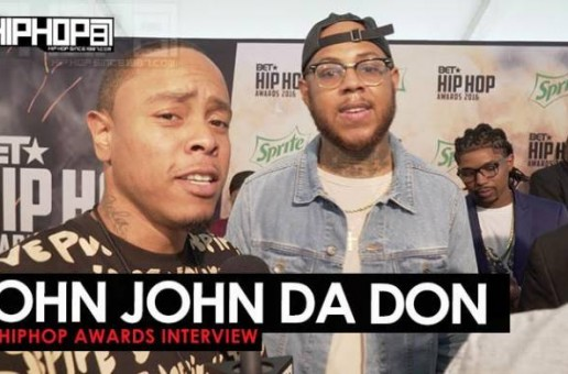 John John Da Don Talks 'The Rap Game' Season 3, 'Shrug Life 2' & More on the 2016 BET Hip Hop Awards Green Carpet with HHS1987 (Video)