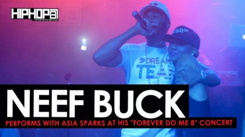 "neef-buck-asia-sparks-500x279 Neef Buck Performs with Asia Sparks at his ""Forever Do Me 8"" Concert (HHS1987 Exclusive)"