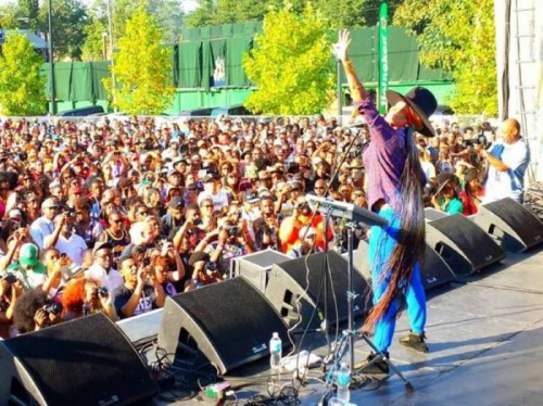 one-music-fest-badu-500x374 The Dungeon Family, Ice Cube, Erykah Badu, Gary Clark Jr, Andra Day, Busta Rhymes & More Will Hit the ONE Musicfest 2016 Stage Tomorrow in Atlanta