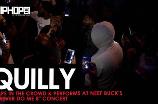 "Quilly Performs In The Crowd at Neef Buck's ""Forever Do Me 8"" Concert (HHS1987 Exclusive)"