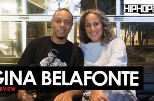 "Gina Belafonte Talks Her Father Harry Belafonte's Legacy, ""Many Rivers Festival"" in Atlanta Ft. Carlos Santana, T.I., Common, John Legend & Others, Sanfoka.org & More with HHS1987 (Video)"