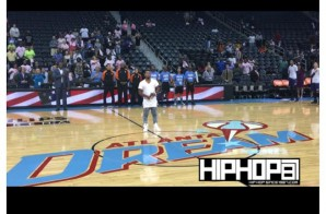 Bobby V Sings The National Anthem as the Atlanta Dream Host the Phoenix Mercury (Video)
