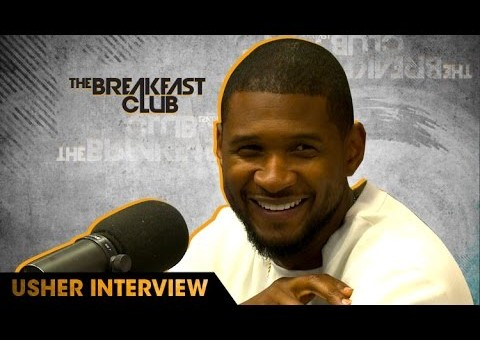 Usher Talks Hard II Love Album, Hands Of Stone & More On The Breakfast Club (Video)