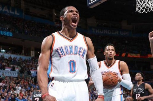 Man On A Mission: OKC Thunder Star Russell Westbrook Notches a 51 Point, 13 Rebound, 11 Assist Triple-Double vs. The Phoenix Suns (Video)