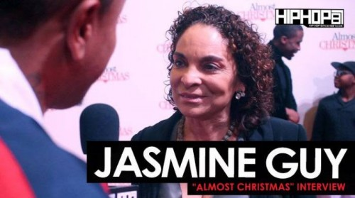 "Jasmine-Guy-500x279 Jasmine Guy Talks Planning a HBCU ""A Different World"" Reunion Tour, Her Favorite Holiday Movie & More at the ""Almost Christmas"" VIP Screening in Atlanta with HHS1987 (Video)"
