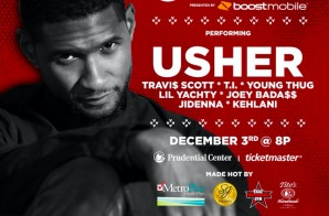 Usher To Headline Hot 97's Hot For The Holidays 2016!