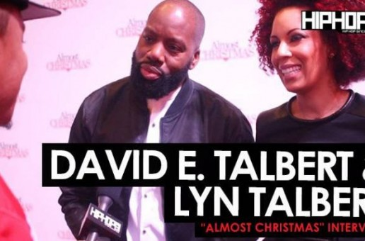 "David E. Talbert & Lyn Talbert Talks Creating the Script for ""Almost Christmas"", Casting & More at the ""Almost Christmas"" VIP Screening in Atlanta with HHS1987 (Video)"