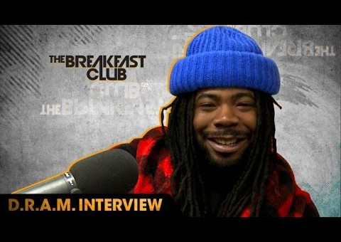 "D.R.A.M. Talks How He Got His Start, New Album, ""Broccoli"" Being #1 & More On The Breakfast Club (Video)"