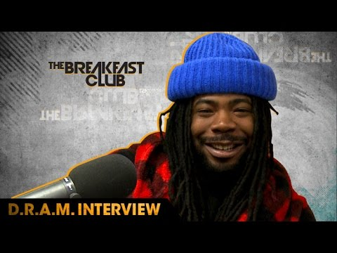 "dram-2 D.R.A.M. Talks How He Got His Start, New Album, ""Broccoli"" Being #1 & More On The Breakfast Club (Video)"