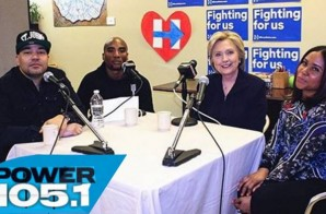 Hillary Clinton Makes Her Return To The Breakfast Club (Video)