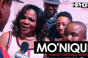 "Mo'Nique Talks Her Role as ""Aunt May"", Her Favorite Family Holiday Moments & More at the ""Almost Christmas"" VIP Screening in Atlanta with HHS1987 (Video"
