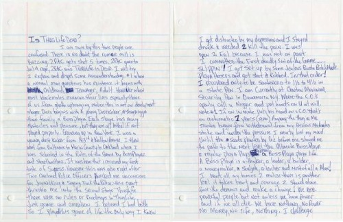 tupac_essay-500x324 Own A Piece Of Hip Hop History As Rare Tupac Memorabilia Goes Up For Auction!