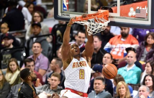 CwyXnV0XgAEXuWp-500x317 True To Atlanta: Dennis Schroder Drops 28 Points as the Atlanta Hawks Hand the Cleveland Cavs Their First Loss of the Season (Video)