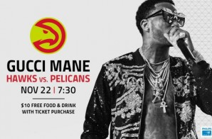 East Atlanta Santa is Coming to Philips Arena: The Atlanta Hawks Are Tipping Off the Holidays with a Special Gucci Mane Show on Nov. 22 vs. the Pelicans