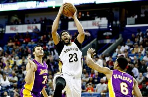 Fly Pelican Fly: Anthony Davis Continues His Early MVP Push Dropping 41 Points & 16 Rebounds vs. the Lakers (Video)