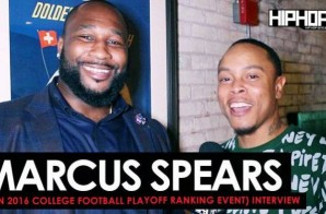 Marcus Spears Talks The Success of the Dallas Cowboys, His 2016 NFL MVP Candidates, LeBron James, 2016 College Football Playoff Rankings & More with HHS1987 (Video)
