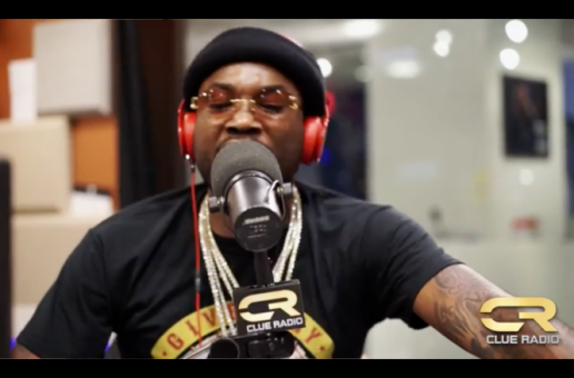 "Meek Mill Freestyles On ""Clue Radio"" (Video)"